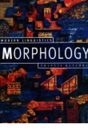 Modern Linguistics Morphology
