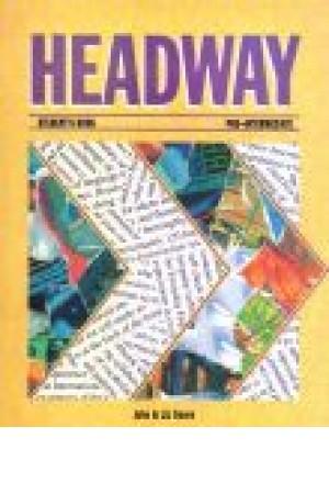 Head Way Pre- Intermediate S.B