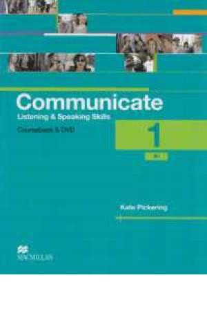 communicate listening & speaking(1)+cd+dvd