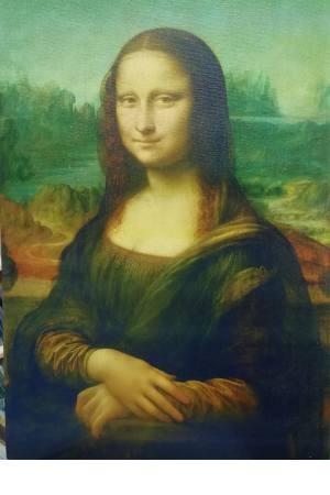 تابلو نقاشی مونالیزا_ لیوناردو داوینچی