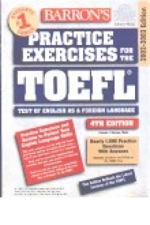 Barron's Practice exercises fro the Toefl