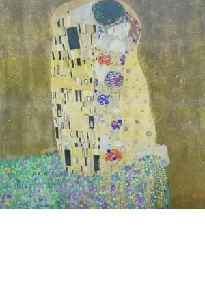 تابلو نقاشی بوسه