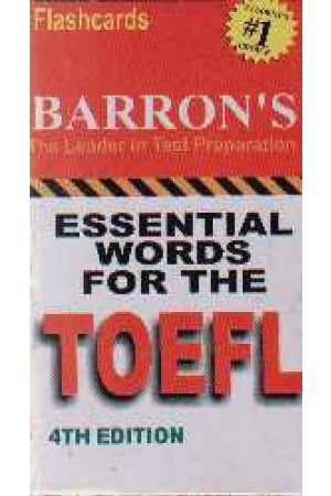 فلش کارت اسنشیال ورد فر تافل - قنبری - es word for toefl