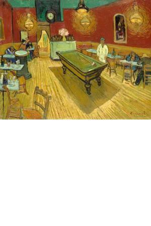 تابلو نقاشی کافه شبانه