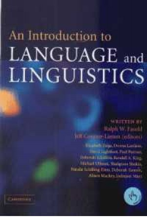 an introduction to language and ling