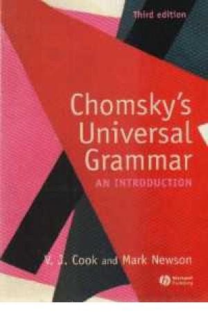 Chomsky Universal Grammar 3