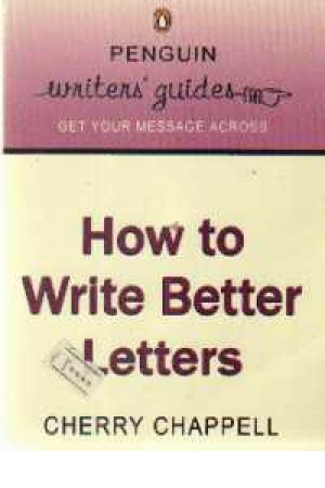 How to Write Beter Letters