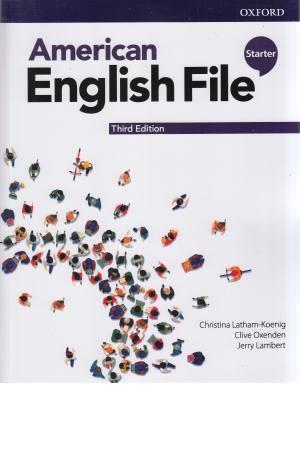 American English File Starter 3rd Edition