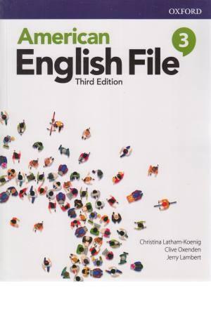 American English File 3 - sb&wb