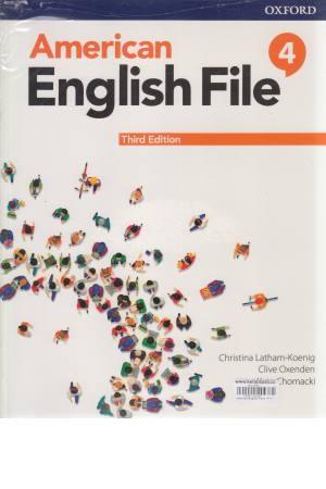 American English File 4 SB+WB
