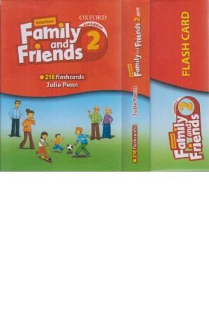 فلش کارت family frinds 2