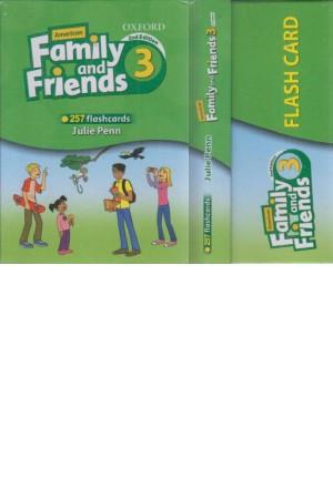 فلش کارت family frinds 3