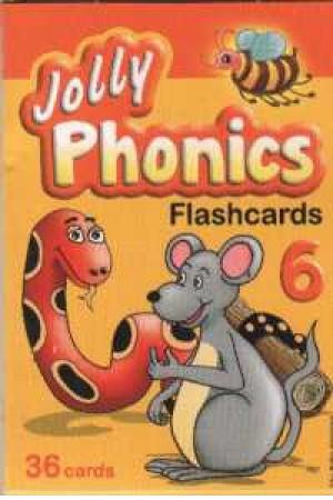 فلش کارت jolly phonics 6