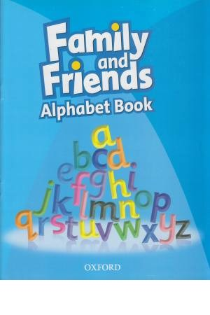 family and friends alphabet