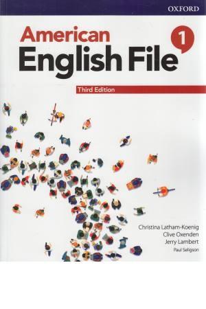 American English File1 sb+wb