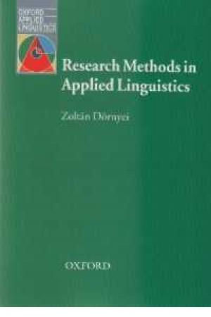 Research Method in Applide Lingustics