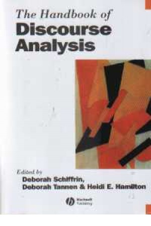hand book of discourse analysis
