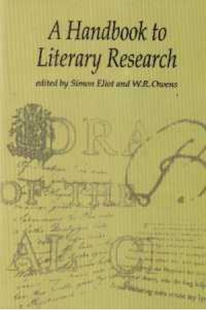 hand book to literary research