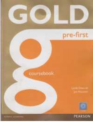 gold pre-first(coursebook+exam)+cd