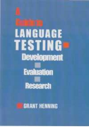 a guide to language testing