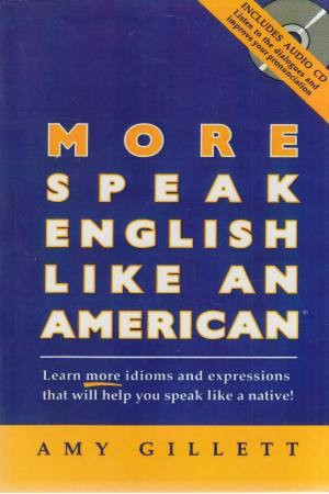 more speak english like an american+cd