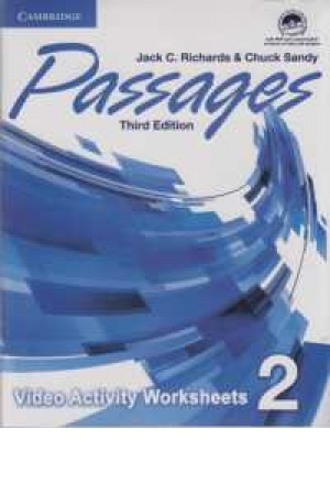 passages 2(3rd)video activities+dvd