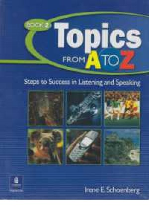 topics from a to z book 2+cd