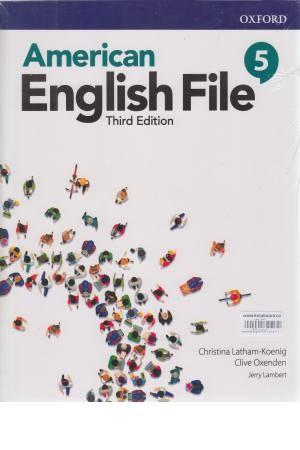 American English File 5 2nd ed sb+wb