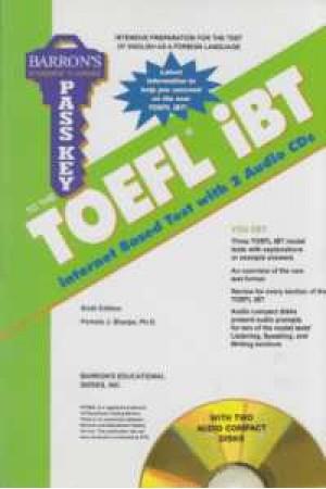 toefl ibt pass key+cd