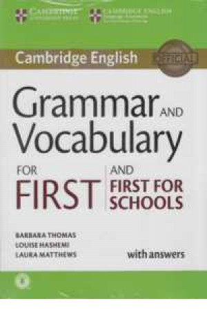 grammar and voc.for first and first for scholl+cd