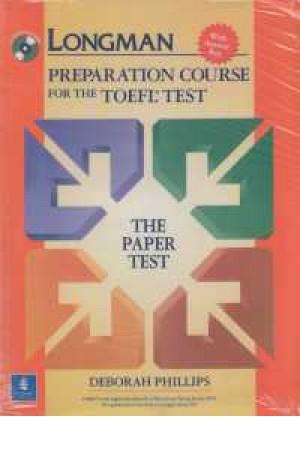 toefl longman paperation test+cd