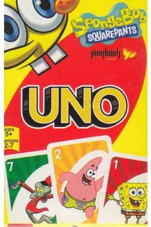 کارت بازی اونو(باب اسفنجی)راهنمای سفر
