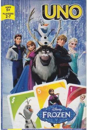 کارت بازی اونو(فروزن)راهنمای سفر
