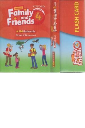 فلش کارت family friends 4