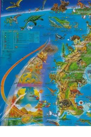 نقشه تصویری جهان ما قبل تاریخ