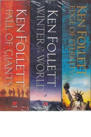 Ken Follett Century Trilogy Series Collection