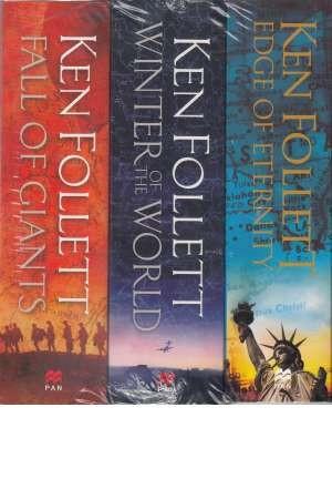 Ken Follett Century Trilogy Series Collection