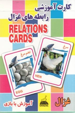 کارت آموزشی رابطه ها(مرغ تخم مرغ)