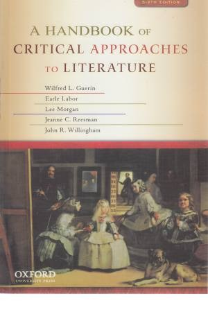 AHand Book Of Critical Approaches To Literature