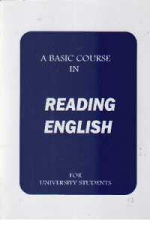 A Basic Course In Reading English