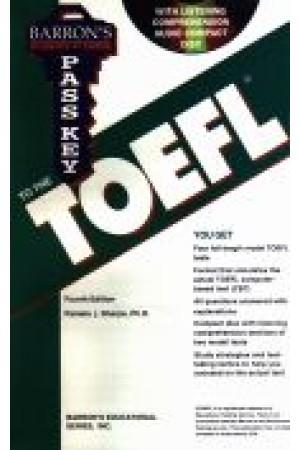 Barron's Passkey TOEFL