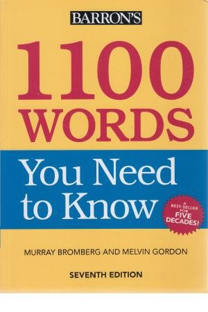 1100 Words your need to know